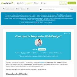 C'est quoi le Responsive Web Design ? - Alsacreations