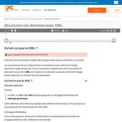Qu'est-ce que le XML ? - Structurez vos données avec XML