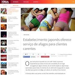 Estabelecimento japonês oferece serviço de afagos para clientes carentes