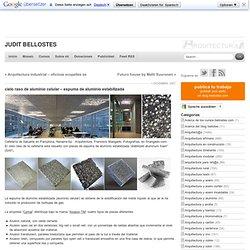 cielo raso de aluminio celular – espuma de aluminio estabilizada