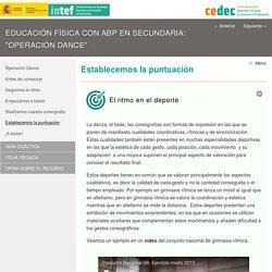 """Educación Física con ABP en Secundaria: """"Operación Dance"""""""