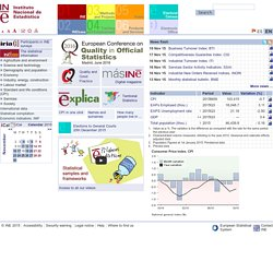 Instituto Nacional de Estadistica. (Spanish Statistical Office)