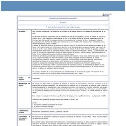 Estadísticas e Indicadores Ambientales - Ficha técnica