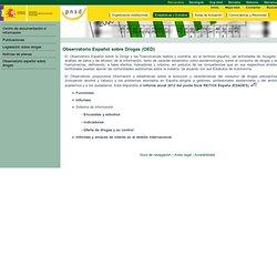 España - Observatorio Español sobre Droga (OED)