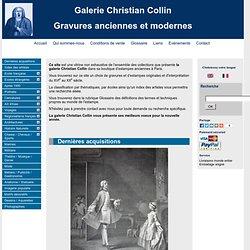 Collin Estampes - Achat-vente de gravures anciennes