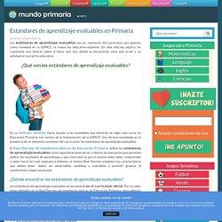 Estándares de aprendizaje evaluables en Primaria - Mundoprimaria