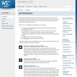 Estándares - W3C España