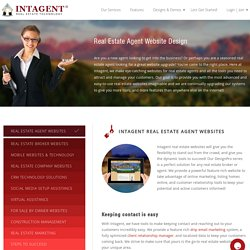 Design Real Estate Agent Websites
