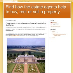 Find how the estate agents help to buy, rent or sell a property: Estate Agents in Silsoe Reveal the Property Trends in This Civil Parish