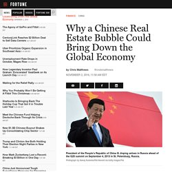 China Real Estate Bubble: Will It Bring Down the Global Economy?