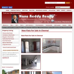 Apartments for Sale - Hanu Reddy