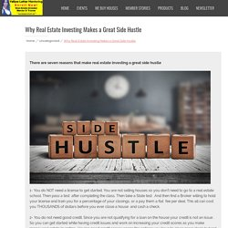 Why Real Estate Investing Makes a Great Side Hustle – Yellow Letter Mentoring