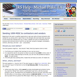 IRS help for Real Estate investors - Michael Plaks