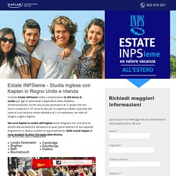 Estate Kaplan INPSieme - Vacanze Studio INPS 2017