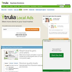 Local Ads — Trulia.com