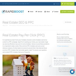 Things To Keep In Mind While Doing Real Estate PPC