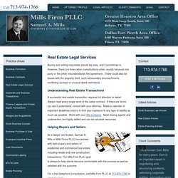 Real Estate Attorney Houston - The Company Lawyer