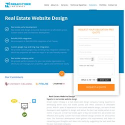 Real Estate Website Design USA
