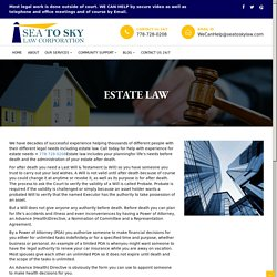 Wills And Estates Lawyers Vancouver