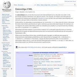 Estereótipo UML