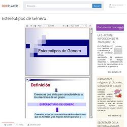 Estereotipos de Género - PDF Free Download