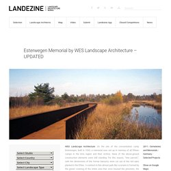 Esterwegen Memorial by WES Landscape Architecture – UPDATED