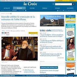 Esteville célèbre le centenaire de la naissance de l'abbé Pierre