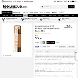 Institut Esthederm E.V.E Essential Vital Elements Serum Source 30ml - feelunique.com