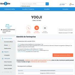 YOOJI (ESTILLAC) Chiffre d'affaires, résultat, bilans sur SOCIETE.COM - 753718923