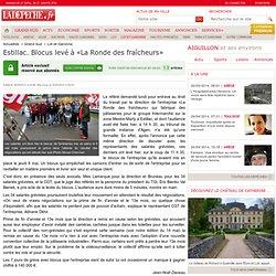 Estillac. Blocus levé à «La Ronde des fraîcheurs» - 16/05/2013