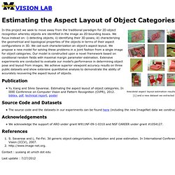 Estimating the Aspect Layout of Object Categories