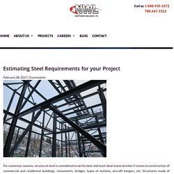 Tips To Estimating Steel Requirements For Your Project