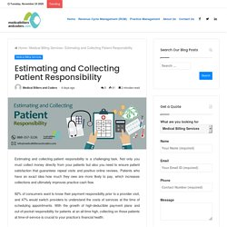 Estimating and Collecting Patient Responsibility
