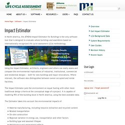 Life Cycle Assessment Software