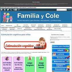 Estimulación cognitiva para niños