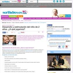 Estimulación para niños: Desarrollo y estimulación del niño de 2 años. ¿A qué jugamos?