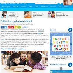 Los libros y los niños. Estimulo a la lectura infantil
