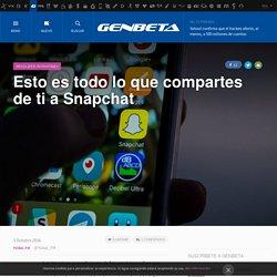 Genbeta 3/10/16 - Snapchat política de seguridad actualizada