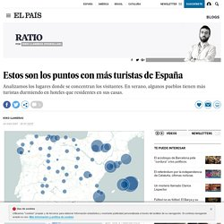 Estos son los puntos con más turistas de España