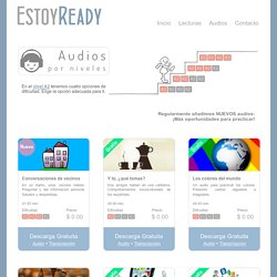 - Lecturas y audios para practicar español. Best way to learn Spanish on your own.