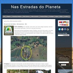 Nas Estradas do Planeta: Recanto dos Carvalhos – São Lourenço – MG
