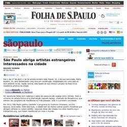 São Paulo - São Paulo abriga artistas estrangeiros interessados na cidade - 07/04/2013