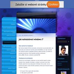 www.ubuntu.estranky.cz - jak nainstalovat windows 7