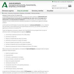 Estrategia de Impulso del Sector TIC Andalucía 2020