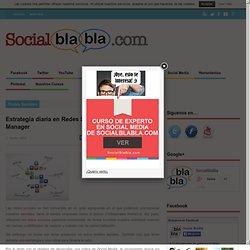 Estrategia diaria en Redes Sociales de un Community Manager