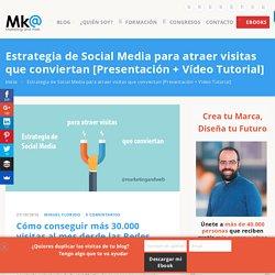 Estrategia de Social Media para atraer visitas que conviertan