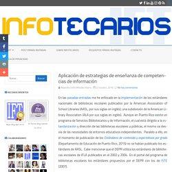 Aplicación de estrategias de enseñanza de competencias de información – IFT