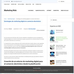 Estrategias de marketing digital en comercio electrónico