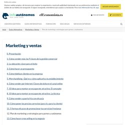 Plan de marketing, estrategias y técnicas de marketing mix