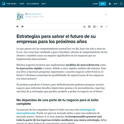 Estrategias para salvar el futuro de su empresas para los próximos años: ext_5324331 — LiveJournal